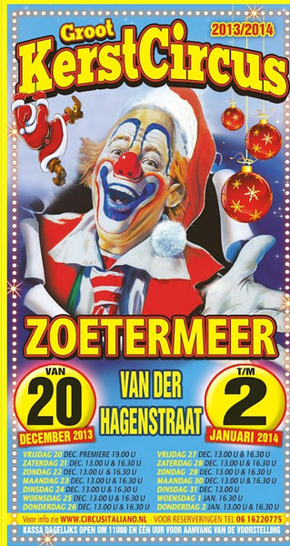 Kerstcircus Zoetermeer