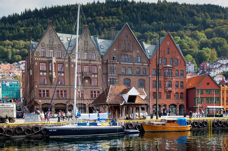 Old Town Bergen, Norway