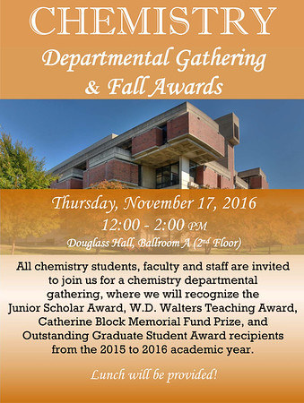 2016 Fall Get-Together and Awards Ceremony