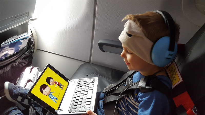 Beckett takes on JetBlue in style and electronics!