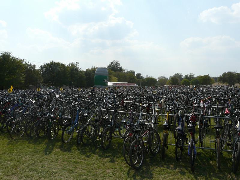 The Sea of Bikes