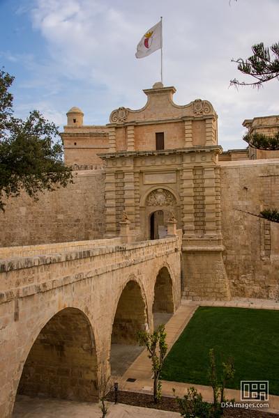 Mdina city walls