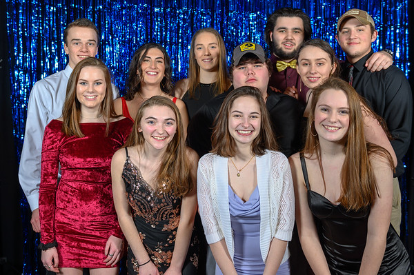 Winter Prom Photo Booth Images