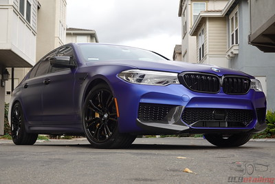 2020 BMW M5 Competition - Marina Bay Blue - XPEL Stealth