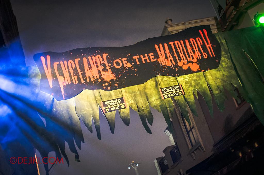 Halloween Horror Nights 2011 Singapore VENGEANCE OF THE MATRIARCH haunted house
