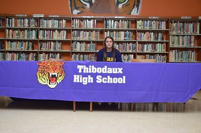 Hannah Hebert Signing