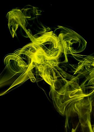 Smoke drifts