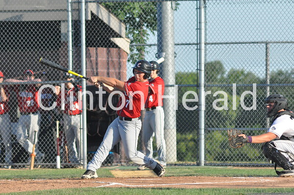 Clinton at Bettendorf substate baseball (7-24-13)
