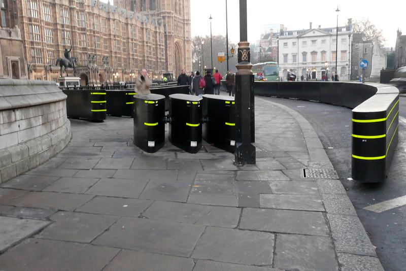 Anti-Terrorist Barricade. London