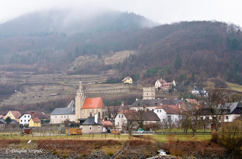 Wachau Valley on the Danube River