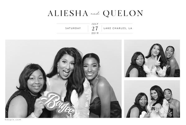7.27.2019 - Aliesha & Quelon's Wedding