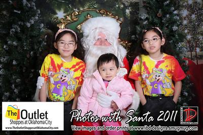 Outlet Shoppes at OKC Santa Photos 12-4-11