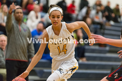 Girls Basketball: Loudoun County vs. Park View 1.20.17 (by Chas Sumser)