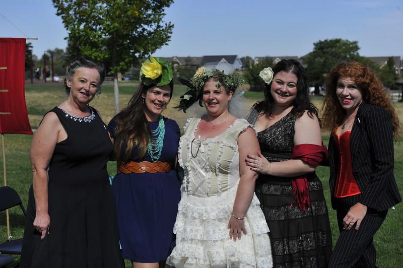 Kelly's family ladies
