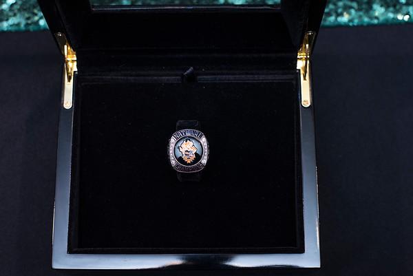 CBU - Men's Soccer Championship Ring Ceremony