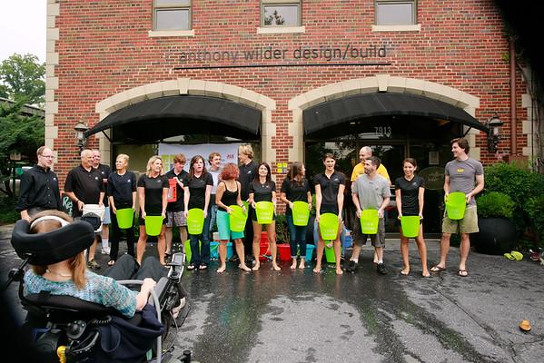 Anthony Wilder Design/Build does ALS Ice Bucket!