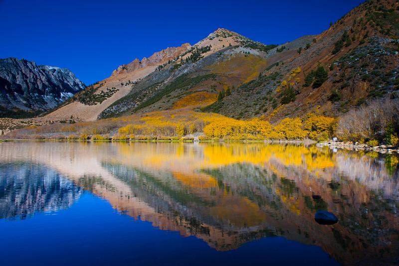 North Lake fall reflection