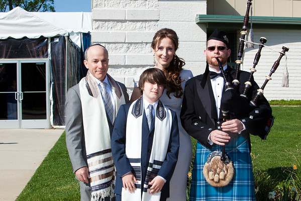 THE WALZER BAR MITZVAH - THE DAY
