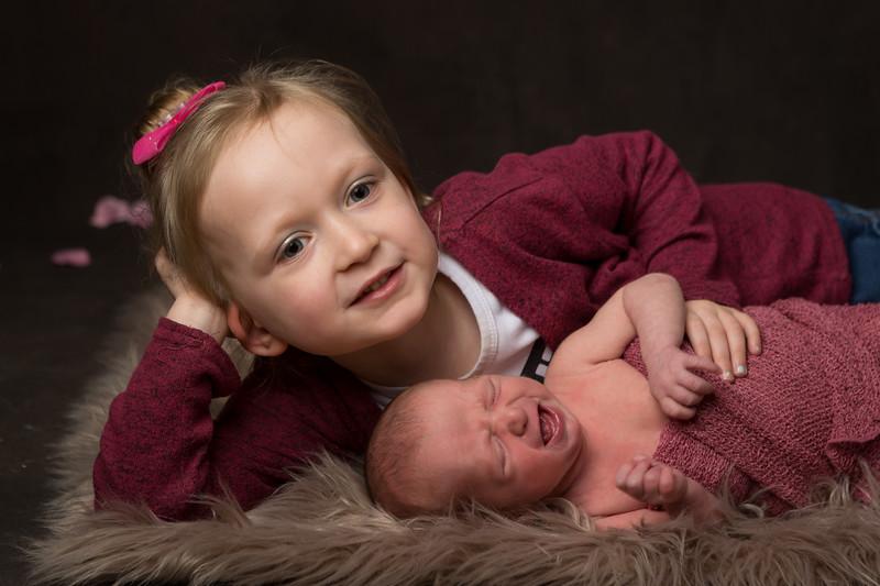 Evie and Lottie