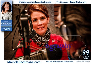 Michele Bachmann 99 Tour Day 1