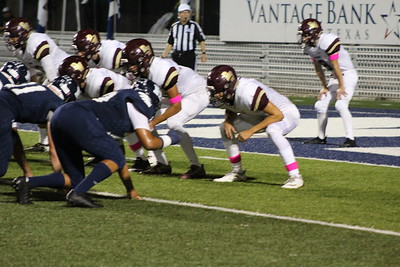 Varsity Warhorse Football vs Hondo 101218