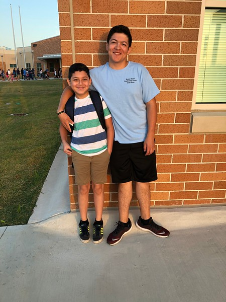 Rene and Angel | 5th and 12th | Akin Elementary School and Rouse High School