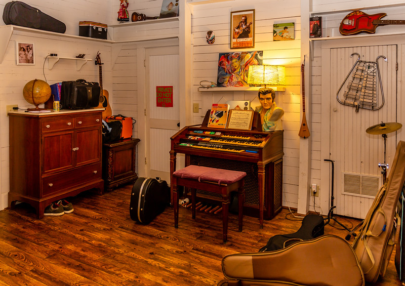 The 'music room'.