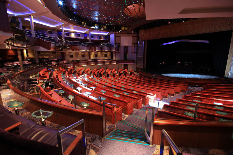 theatre on the cruise ship