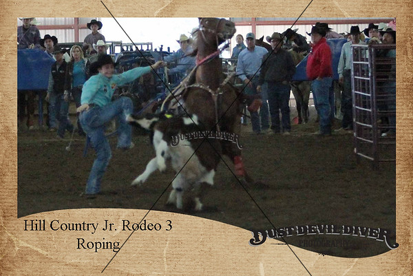 Hill Country Jr. Rodeo 3 Roping