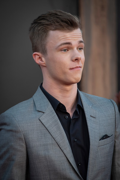 """WESTWOOD, CA - AUGUST 26: Nicholas Hamilton attends the Premiere Of Warner Bros. Pictures' """"It Chapter Two"""" at Regency Village Theatre on Monday, August 26, 2019 in Westwood, California. (Photo by Tom Sorensen/Moovieboy Pictures)"""