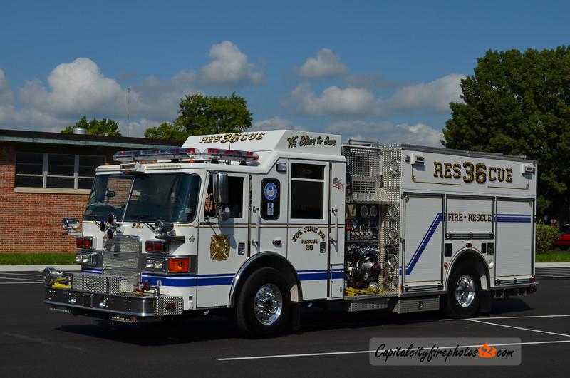 Yoe Rescue 36: 2007 Pierce Enforcer 1500/750/20