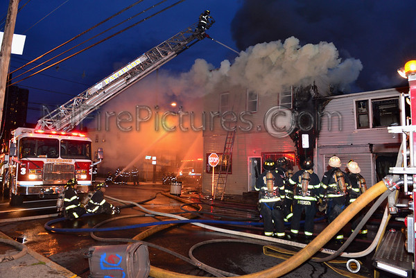 PATERSON, NJ 4TH ALARM 215-219 ROSA PARKS BLVD. 11/5/14