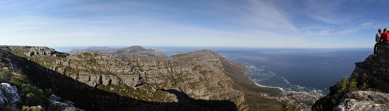 Top of Table Mountain looking west