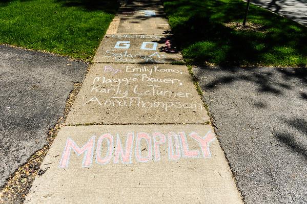 Sidewalk Monopoly