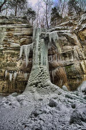 Starved Rock Frozen Falls  2/2/2019