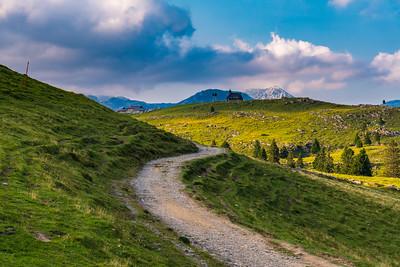 Afternoon hike on Velika planina - Aug 17, 2018