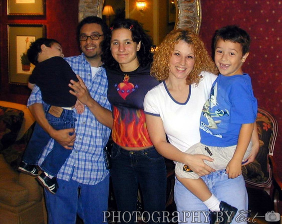 Elissa and Family, October 2002 (CA)