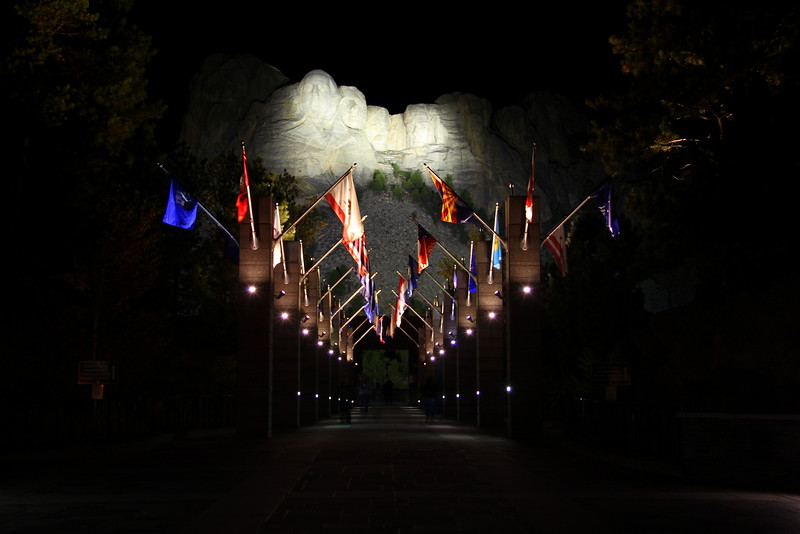 Mt. Rushmore Night Flags.jpg