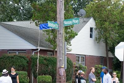 Honoring Street Plaque for Darroll Shamello Durant: 9/18/21
