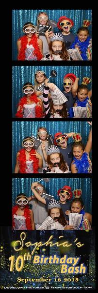 Sphia's 10 Birthday - 2015