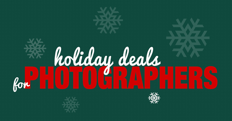 Holiday Deals for Photographers