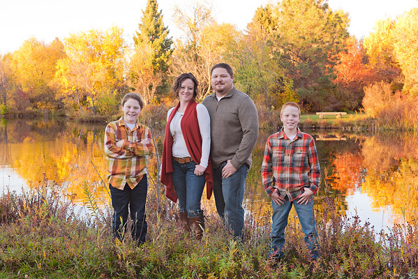 Eli and Stephanie Family Fall 16