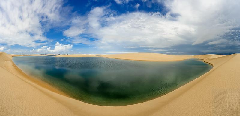 Lagoa da Capivara, Lençóis Maranhenses, Maranhão - Brasil