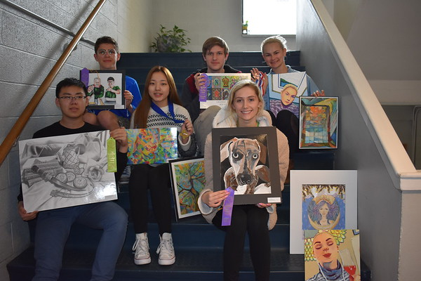 TAPPS Art Winners