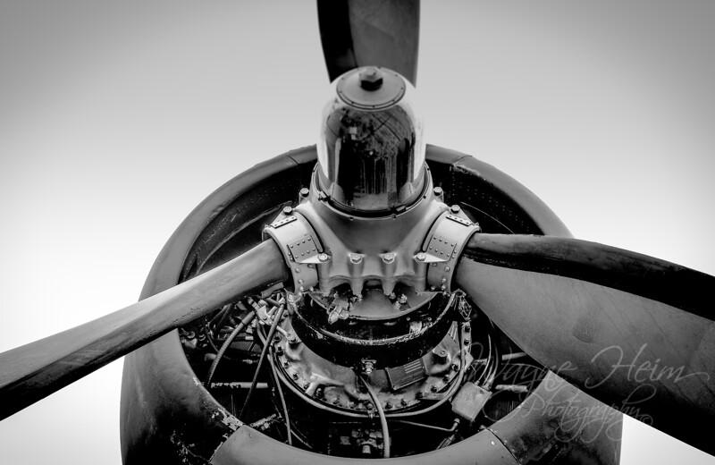 Prop    Black & White Photography by Wayne Heim