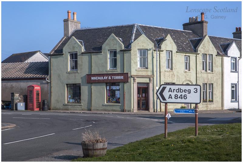 Macaulay and Torrie shop, Port Ellen