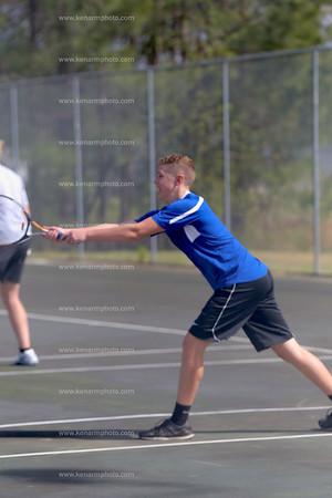 East Bladen boys tennis 2016 Clinton