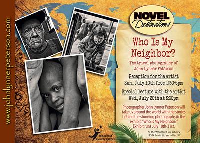"Exhibit - ""Who is My Neighbor?"" Lexington Kentucky Photographer John Lynner Peterson"