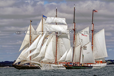 CT Schooner Festival 2013 - Morgan Cup Race