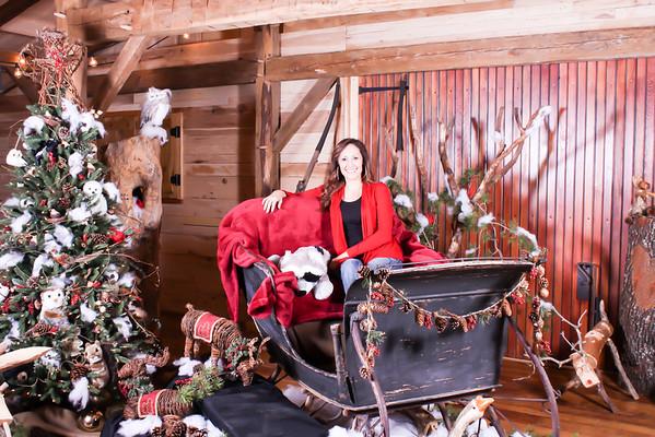 Santa At Hollow Hill Farm